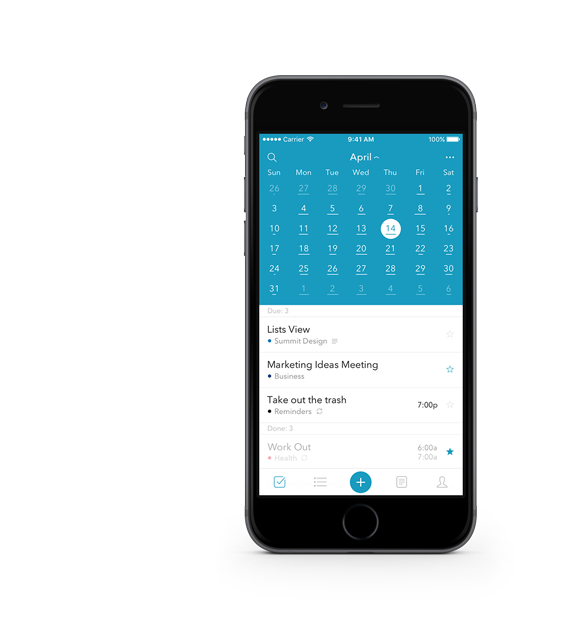 summit daily planner to do list calendar notes app